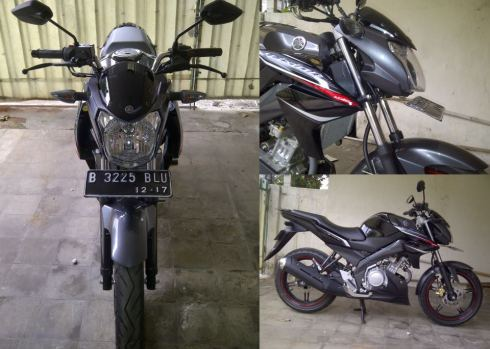 headlamp new vixion lightning